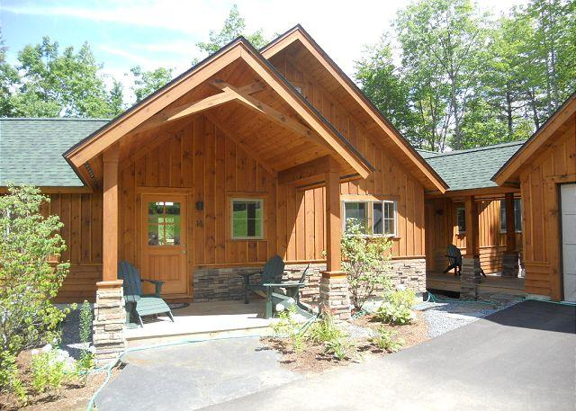 Front of Home - Vacation Rental Home Overlooking Lake Winnipesaukee (MAR14Bf) - Laconia - rentals