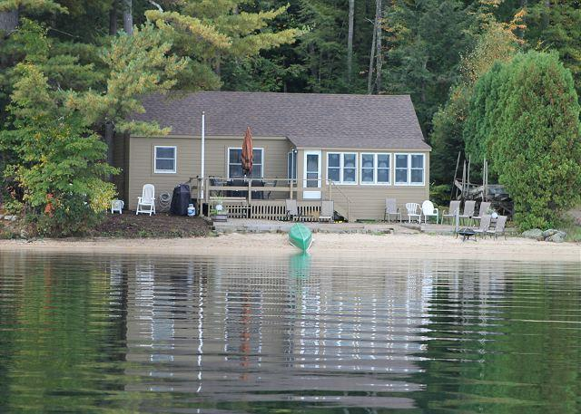Exterior & Views - LLBean Style Cottage on Lake Winnipesaukee (HAW66W) - Meredith - rentals