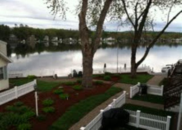 Lovely view of Lake Winnisquam from deck of condo - Waterfront Vacation Rental on Lake Winnisquam (AND9B) - Tilton - rentals