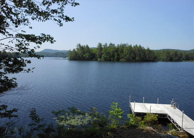Lovely Home on Lake Wickwas in Meredith, NH, Sleeps 8 (BLO9Wp) - Image 1 - Meredith - rentals