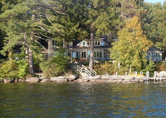 Beautiful Waterfront Vacation Luxury Home on Lake Winnipesaukee (LOK11Wf) - Image 1 - Moultonborough - rentals