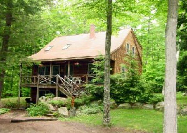 Outside of house - Four Bedroom Beach Access on Lake Kanasatka (FOR43Bplr) - Moultonborough - rentals