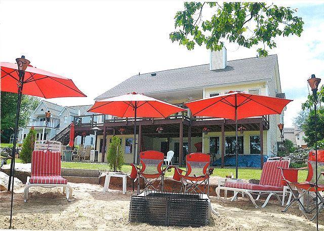 Luxury Home On Lake Opechee with Sandy Beach, Sleeps 10 (ABJ33Wa) - Image 1 - Laconia - rentals