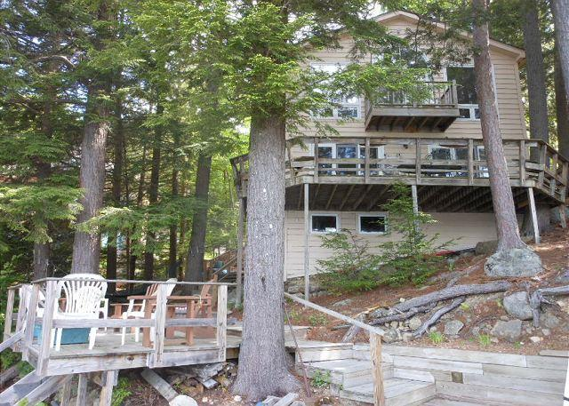 Lake Winnipesaukee Waterfront with views of Stonedam Island (NOL18Wf) - Image 1 - Meredith - rentals