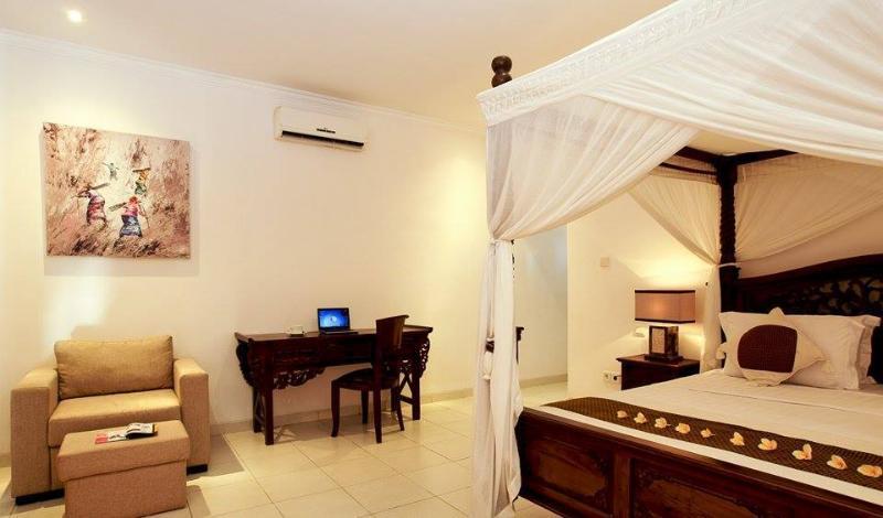 Master Bedroom - Bella 2BR Villa In Seminyak,15min walk 2 the beach - Seminyak - rentals