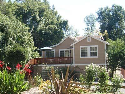 Bramble Creek, Dog Friendly Riverfront Cottage - River Beach Cottage 4 - Guerneville - rentals