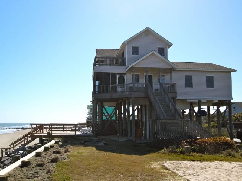 Exterior of 1 Summer Place - 1 Summer Place - Folly Beach, SC - 3 Beds BATHS: 3 Full - Folly Beach - rentals