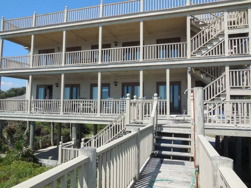 Oceanside Elevation - Absolute Best View - Folly Beach, SC - 3 Beds BATHS: 3 Full - Folly Beach - rentals