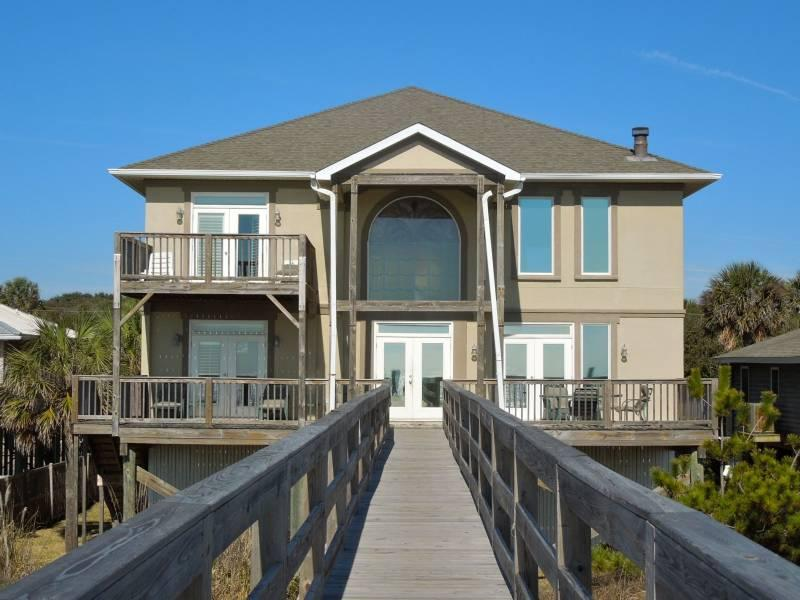 Ocean Side of Home - All Occasion House - Folly Beach, SC - 4 Beds BATHS: 3 Full 1 Half - Folly Beach - rentals