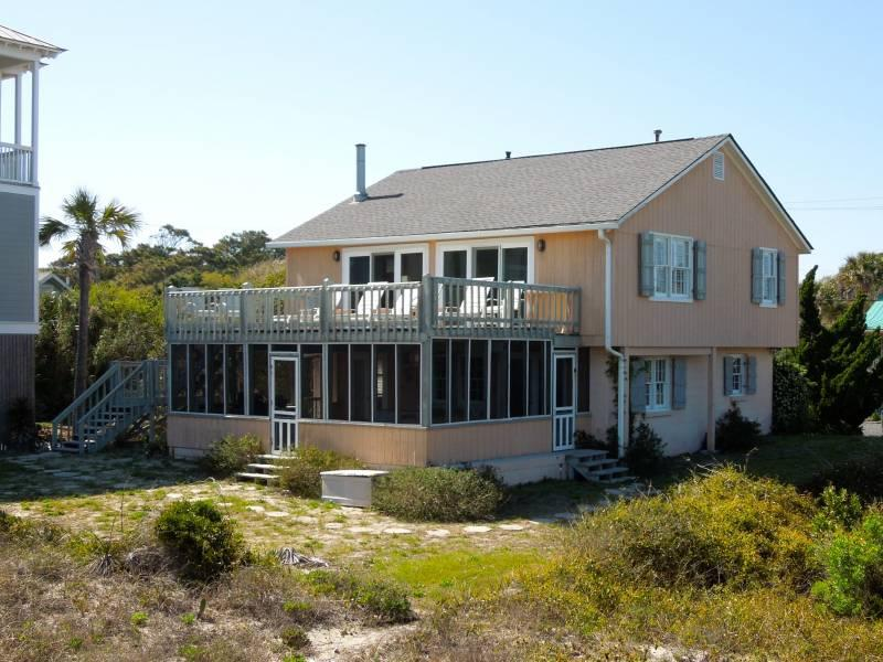Exterior - Beach Music - Folly Beach, SC - 4 Beds BATHS: 2 Full - Folly Beach - rentals