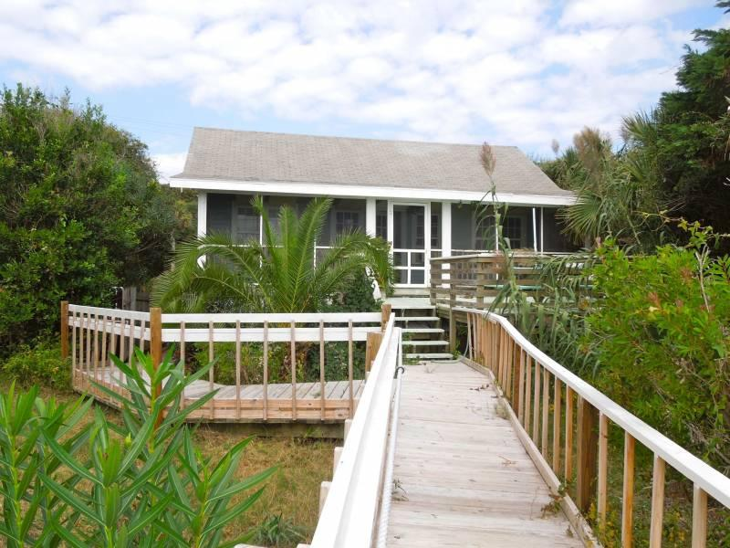 Oceanside Exterior - Bimini - Folly Beach, SC - 3 Beds BATHS: 1 Full - Folly Beach - rentals