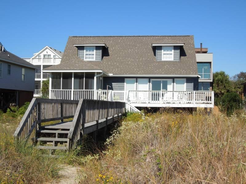 View from the Beach - Blue Bayou - Folly Beach, SC - 5 Beds BATHS: 4 Full - Folly Beach - rentals