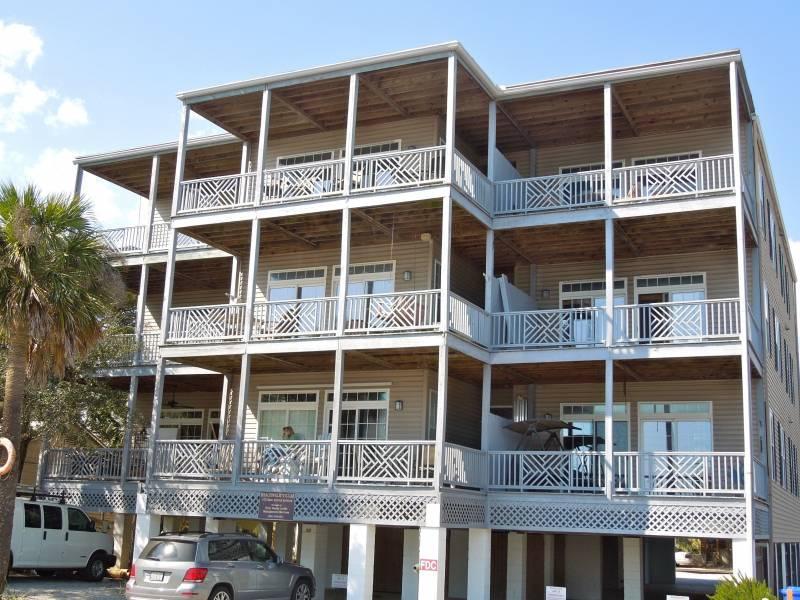 Exterior - Beachwalk Villas 23 - Folly Beach, SC - 2 Beds BATHS: 2 Full - Folly Beach - rentals
