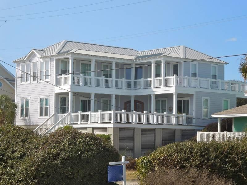 Exterior - Carolina Dreaming - Folly Beach, SC - 5 Beds BATHS: 5 Full - Folly Beach - rentals