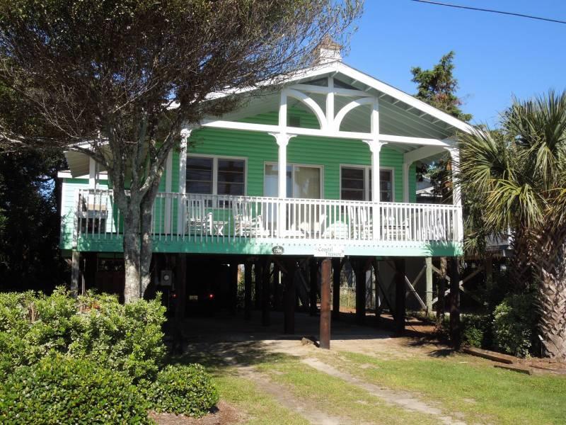 Exterior - Coastal Treasure - Folly Beach, SC - 3 Beds BATHS: 2 Full - Folly Beach - rentals