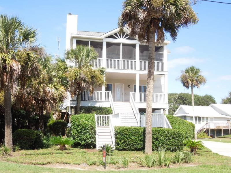 Exterior - Conched Out - Folly Beach, SC - 4 Beds BATHS: 3 Full - Folly Beach - rentals