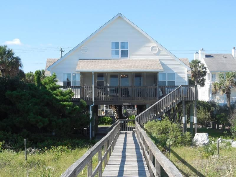 Exterior - Sandi Lou - Folly Beach, SC - 5 Beds BATHS: 3 Full - Folly Beach - rentals