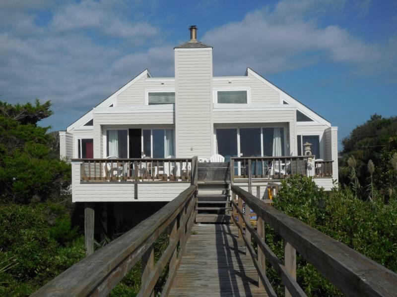 Exterior - Sea Clamp - Folly Beach, SC - 2 Beds BATHS: 2 Full - Folly Beach - rentals
