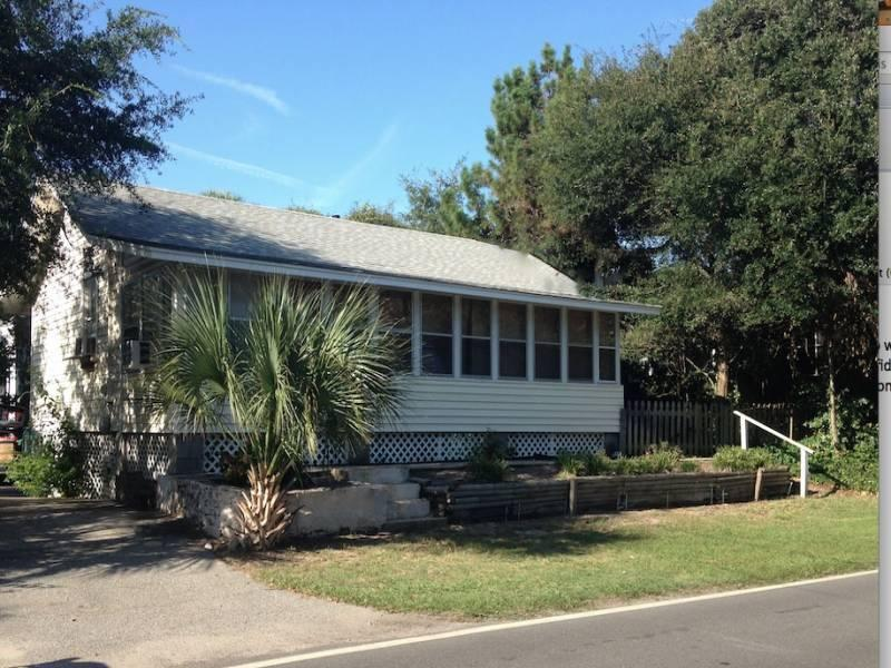 Exterior - Sea Urchin - Folly Beach, SC - 2 Beds BATHS: 1 Full - Folly Beach - rentals