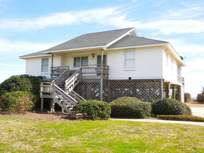 Streetside Exterior - Shore-Nuff Corley's - Folly Beach, SC - 3 Beds BATHS: 2 Full - Folly Beach - rentals