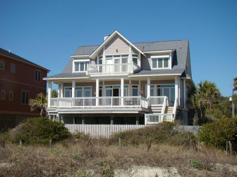Exterior - Sunrise, Sunset - Folly Beach, SC - 3 Beds BATHS: 4 Full - Folly Beach - rentals