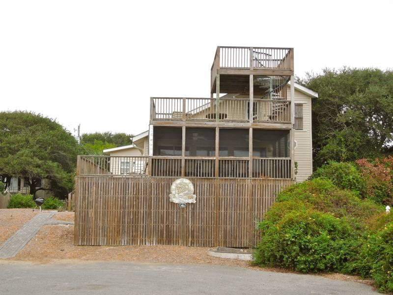 Exterior - The Boat House - Folly Beach, SC - 5 Beds BATHS: 4 Full - Folly Beach - rentals