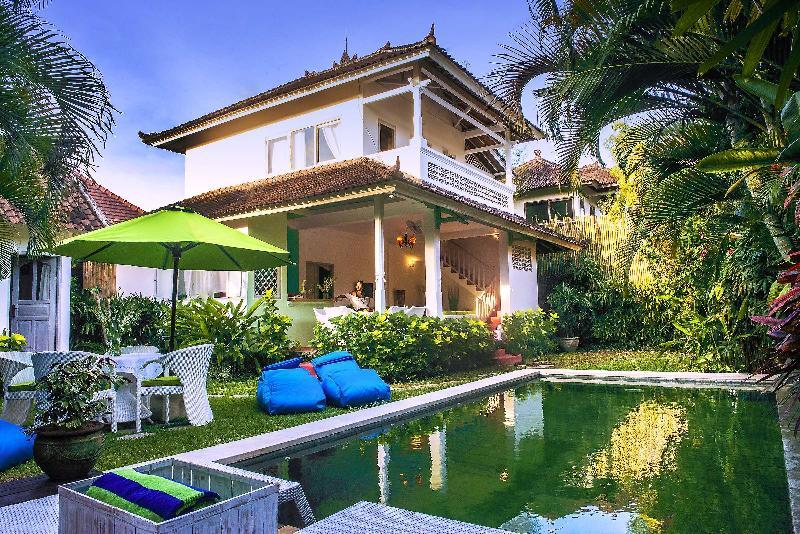 3 BR Lux Pool Villa Charm Seminyak Bali 100m beach - Image 1 - Seminyak - rentals
