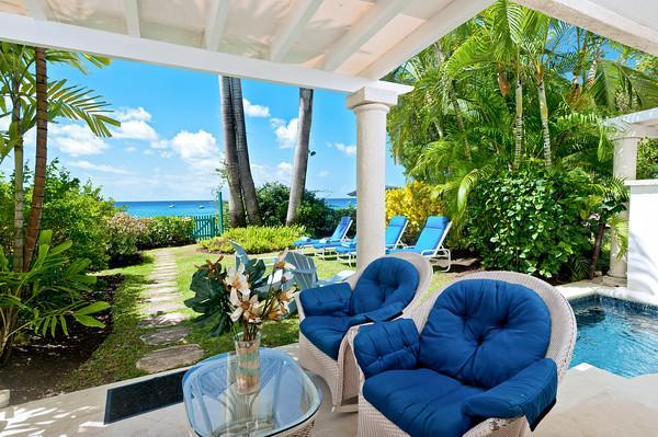 Chanel No. 5 at Mahogany Bay, Barbados - Beachfront, Plunge Pool, Excellent Snorkelling - Image 1 - Saint James - rentals