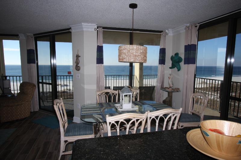 Beachfront view from 3 walls. Nothing like a corner unit! - Stunning Corner Beachfront View,Private balcony! - Orange Beach - rentals