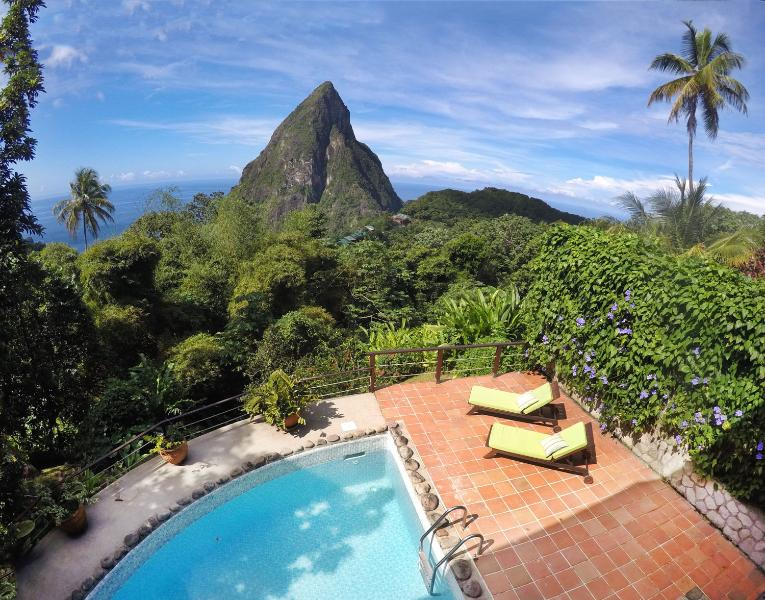 Welcome to the Coco Pitons Villa of Soufriere... - Coco Pitons Villa Overlooking the Pitons Mountains - Soufriere - rentals