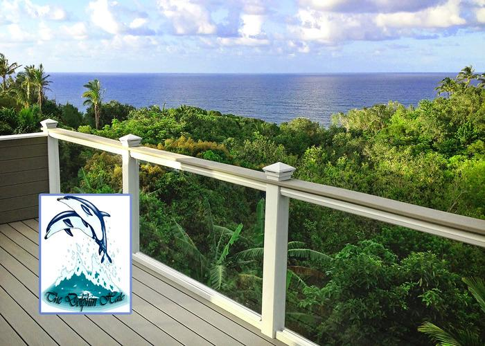 Upper Lanai - A Great Place to Barbeque - DELUXE TRI-LEVEL OCEAN VIEW BLUFF HOME - Princeville - rentals