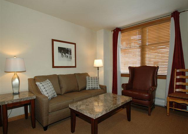 1 bedroom ski-in/ski-out condo with king bed @ Zephyr Mountain Lodge - Image 1 - Winter Park - rentals
