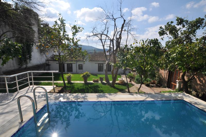 Poolside gardens - Goldsmith House, Selcuk, (Ephesus) Turkey - Selcuk - rentals