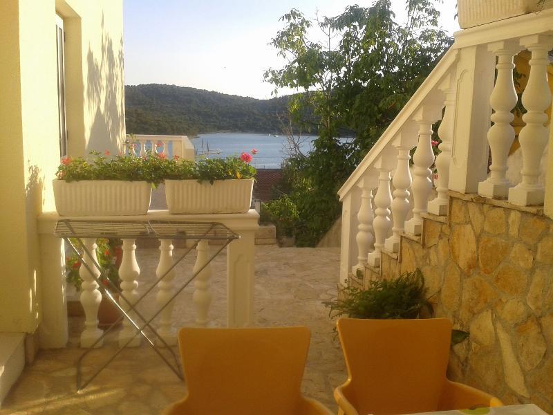 A4(2+2): balcony - 5029 A4(2+2) - Tisno - Tisno - rentals