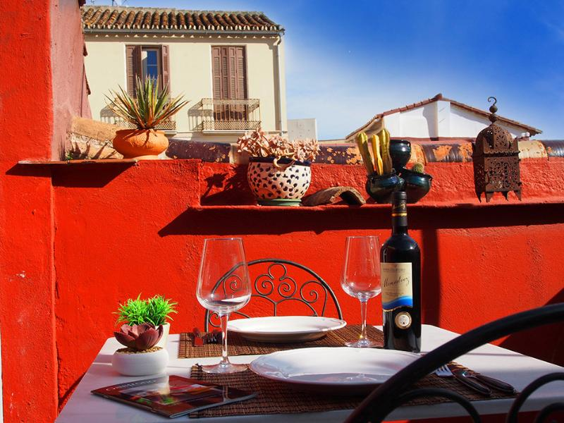 Penthouse  With Private Terrace - Image 1 - Malaga - rentals