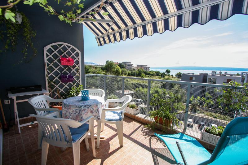 Balcony with sea view - Deluxe sea view apartment - Split - rentals
