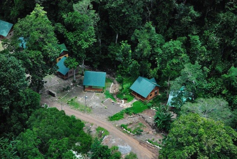 Aerial view of Cabins and surrounding area - Costa Rica Rainforest Cabin - Casa del Sol - Playa Hermosa - rentals