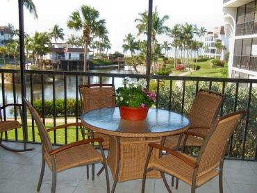 VIEW FROM UNIT AND LANAI - Pointe Santo C27 - Sanibel Island - rentals