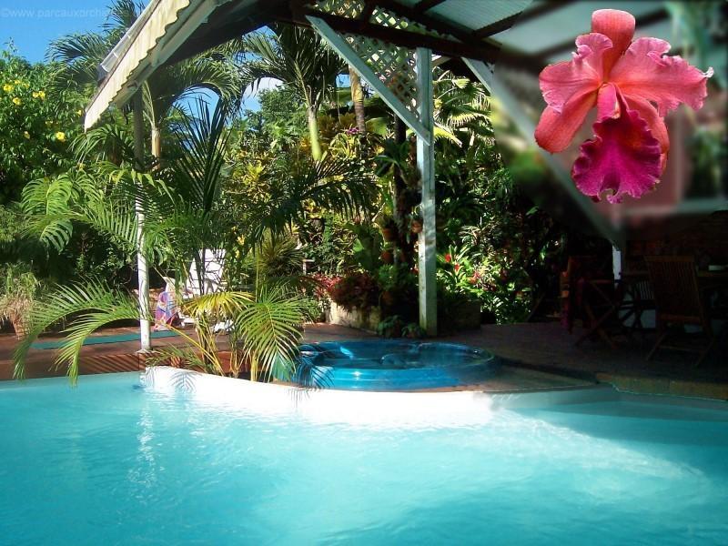 piscine - Le Parc aux Orchidées, cottage Litchi. - Pointe-Noire - rentals