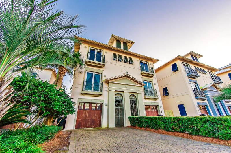 Peace of Paradise - Gulf Front Home - Image 1 - Miramar Beach - rentals