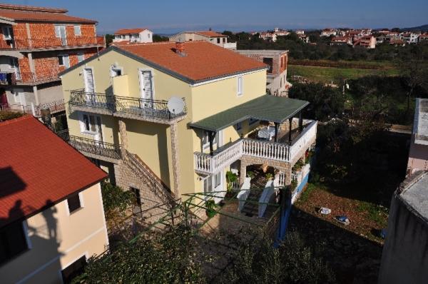 A3(4+1): balcony - 00705DRAG A3(4+1) - Drage - Drage - rentals
