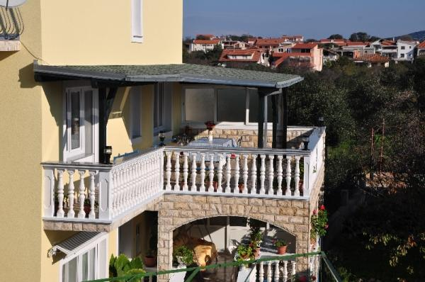 A2(4+1): terrace - 00705DRAG A2(4+1) - Drage - Drage - rentals