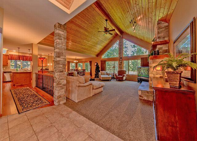 Sierra Meadows Lodge - Luxury Vacation Home near the Lake!  5BR|Slps 16|Hot Tub|WiFi|Free NIGHTS!! - Roslyn - rentals