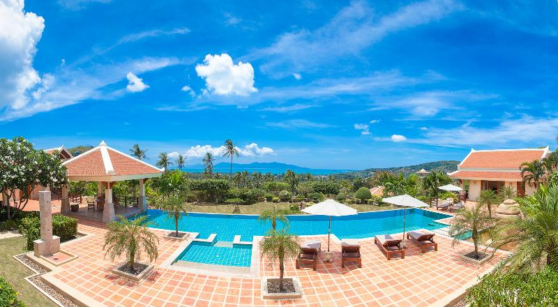 Villa Tara Koh Samui - Pool - Villa Tara - Ocean View Bophut with Garden - Bophut - rentals