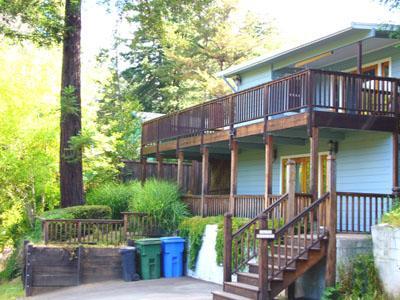Mountain View Exterior - Mountain View - Guerneville - rentals