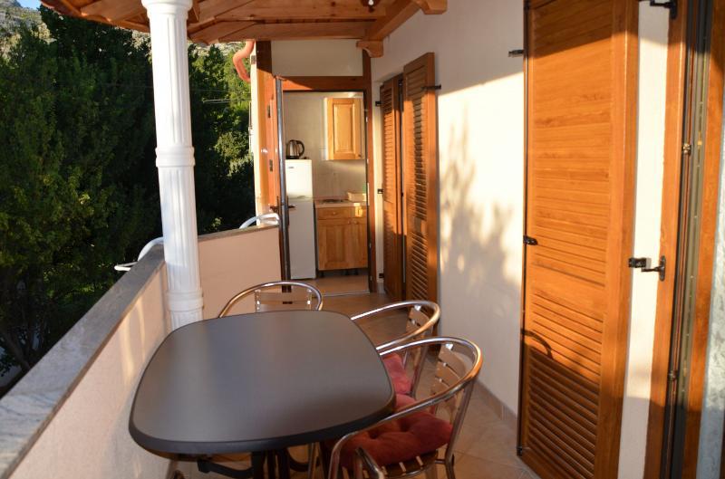 A3(5): terrace - 5618 A3(5) - Starigrad-Paklenica - Starigrad-Paklenica - rentals
