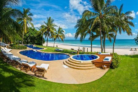 Magnificent Private Beachfront Retreat with Bilingual Staff - Casa Aramara - Image 1 - Punta de Mita - rentals