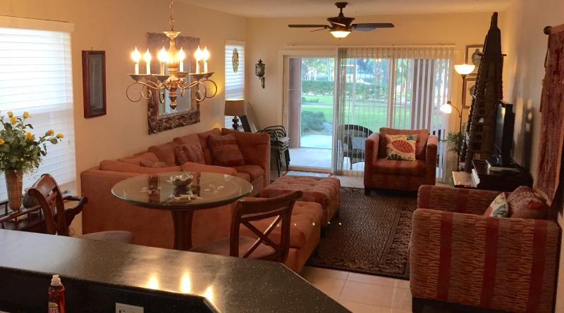 Living Room - Canopy Walk Intracoastal 3BRM 2BA Luxury Condo - Palm Coast - rentals