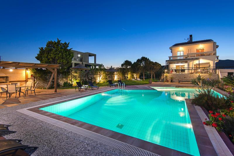 Pool - Alkyoni Villa - Lachania - rentals
