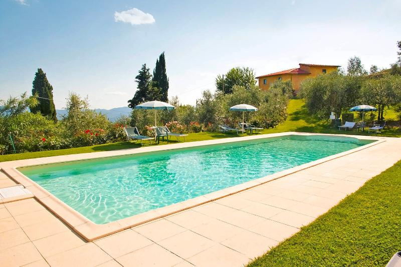 Farmhouse with apartments, private pool, view - Image 1 - Loro Ciuffenna - rentals